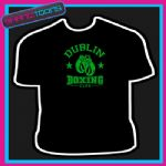 IRELAND DUBLIN BOXING CLUB GLOVES BOXER GYM TSHIRT